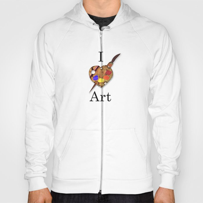I Love Art Hoody
