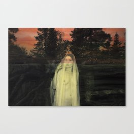 The Westering Sun Canvas Print
