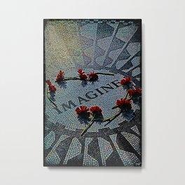 Strawberry Fields Memorial Metal Print