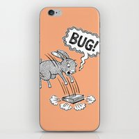 bug iPhone & iPod Skins featuring BUG! by Laurie A. Conley