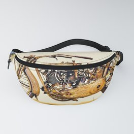 Vintage HD Motorcycle - Circa 1917 Fanny Pack