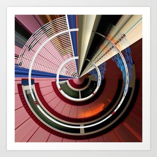 Centripetal Course 659 Art Print