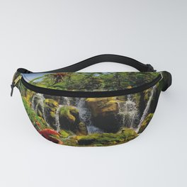 Pandoran Waterfalls Fanny Pack