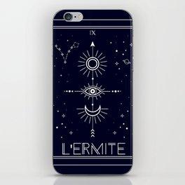 The Hermite or L'Ermite Tarot iPhone Skin