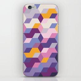 Violet Pattern iPhone Skin
