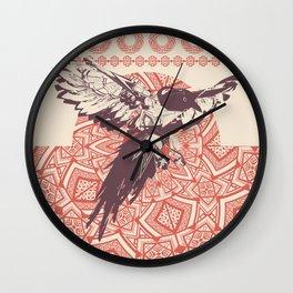 Dakota Crowsong Wall Clock