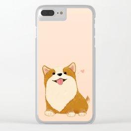 Corgi [heart!] Clear iPhone Case