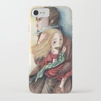 les miserables iPhone & iPod Cases featuring les miserables by Fabiana Attanasio