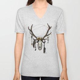 Bestial Crowns: The Elk Unisex V-Neck