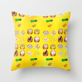 Dim Sum Throw Pillow
