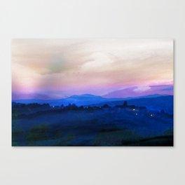 Umbrian Landscape Canvas Print