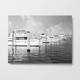 Destin Boats 2 Metal Print