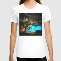 milan T-shirts featuring milan pool by chicco montanari
