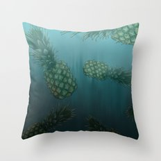 Bikini Bottom  Throw Pillow