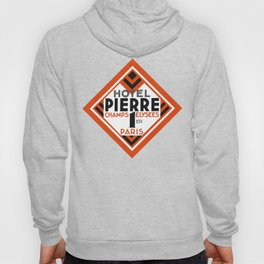 Hotel Pierre Paris Art Deco Hoody