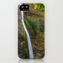 Horsetail Falls in Oregon's Columbia River Gorge iPhone Case