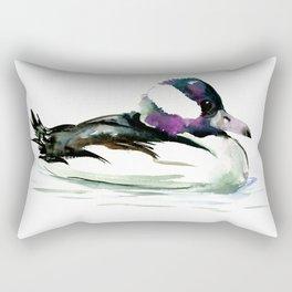 Bufflehead Duck Rectangular Pillow