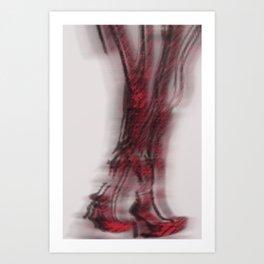 K_BOOTS Art Print