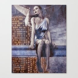 City Angel Canvas Print