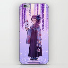 Wisteria dream iPhone Skin