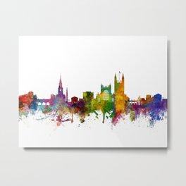 Bath England Skyline Cityscape Metal Print