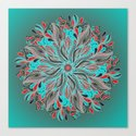 Mandala Flower by angeldecuir