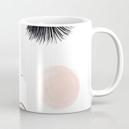 Lashes And Lips Coffee Mug