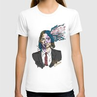gore T-shirts featuring Kurt Gore Cobain by Alexalco5