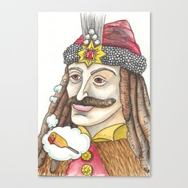 Vlad the Impaler Canvas Print
