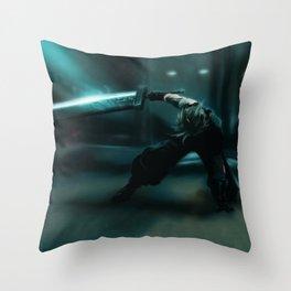 Cloud Strife, FFVII Remake Throw Pillow