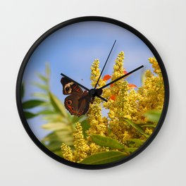 Butterfly Song Wall Clock