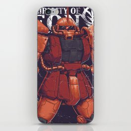 The Red Comet iPhone Skin