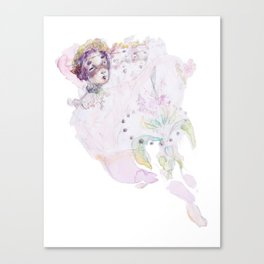 Orbit Flower Canvas Print
