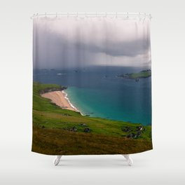 Great Blasket Island Shower Curtain