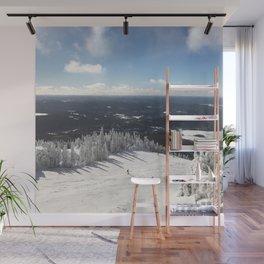 Snowy Horizon #2 Wall Mural