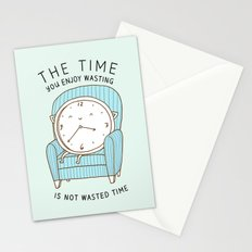 The Time You Enjoy Wasting Stationery Cards
