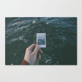 Nostalgie Un / Polaroid Canvas Print