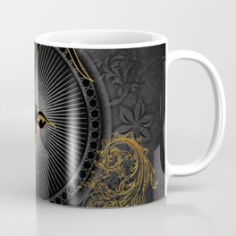 Billygoat in black and gold Coffee Mug