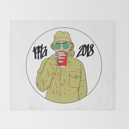 Mac Miller R.I.P 1992 - 2018 Throw Blanket