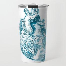 Mermaid Heart Travel Mug