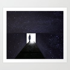 Stars Way To Heaven Art Print