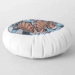 Aries mosaic Floor Pillow