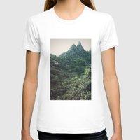 hawaii T-shirts featuring Hawaii Mountain by Kurt Rahn