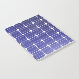 In charge / 3D render of solar panel texture Notebook