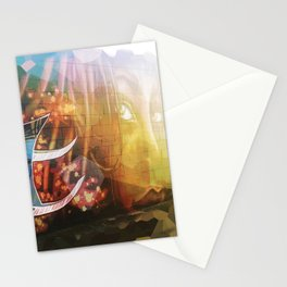 Urban Landscape - Local Graffiti Stationery Cards
