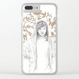 Golden Boy II (Louis Tomlinson) Clear iPhone Case