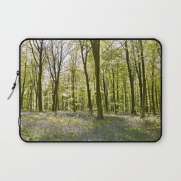Bluebells of Micheldever Wood Laptop Sleeve