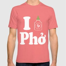 I Heart Pho Pomegranate Mens Fitted Tee SMALL