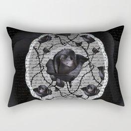Bitter Rose Rectangular Pillow