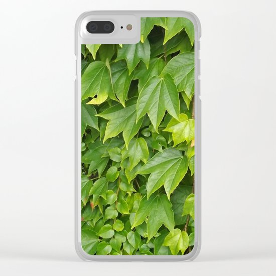 just leaves Clear iPhone Case